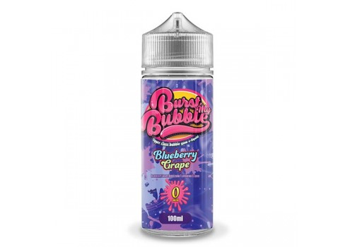 E-liquid Burst My Bubble - Blueberry Grape 100 ml