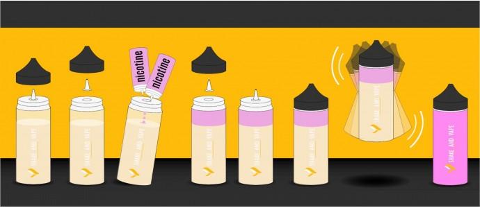 Shake and Vape e-liquidek